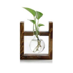 گلدان چوبی تبلیغاتی