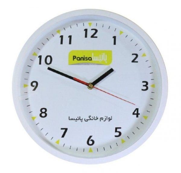 ساعت تبلیغاتی دیواری مدل دینا2