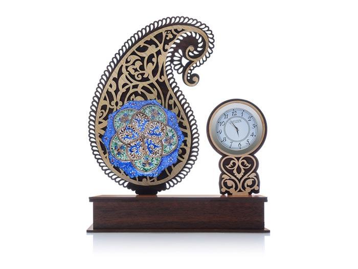 نمونه ای زیبا و خاص از ساعت تبلیغاتی رومیزی