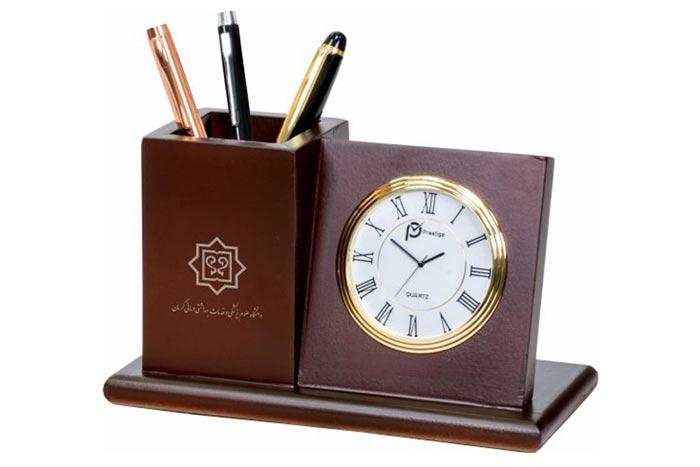 چاپ بر روی ساعت تبلیغاتی رومیزی