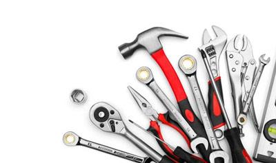 انواع ابزارآلات اولیه در جعبه ابزار